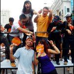 TM Everyone Connects Launch + Flash Mob | Bukit Bintang