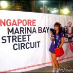 Hellooo from Singapore's Formula 1 Grand Prix 2010!