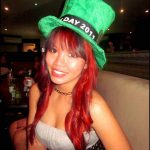 Happy St. Patrick's Day! Partying along with the Irish celebrations at Cargo Lounge & Saloon @ Traralgon