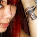 My Egyptian wrist tattoo! The 3rd body art piece