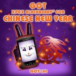 Limited edition RED Blackberry Torch to give away! Thanks to the Chinese New Year promo by Celcom XPAX