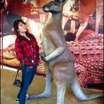 This kangaroo is taller than me… and I kissed it. Goodbye Sydney!