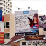 Came back to Penang & guess what I saw? I'm on a billboard and a cinema ad!