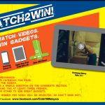 This is how you win a brand new gadget. Watch this video! | 'Ten Makes the Man Watch2Win' contest